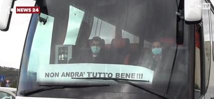 La protesta a Catanzaro