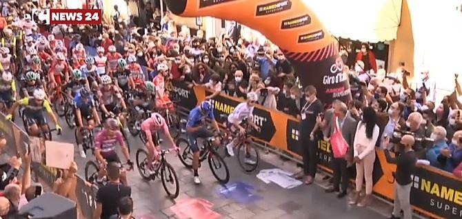 La tappa calabrese del Giro d'Italia