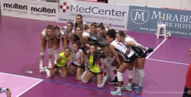Volley, cresce l'attesa per Soverato: stasera sfida con Montecchio Maggiore