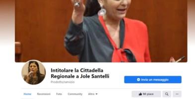 Santelli, il cordoglio unisce il popolo social che lancia la proposta: «Intitolatele la Cittadella»