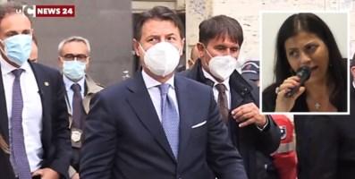 Il premier Conte a Cosenza per i funerali della governatrice Santelli
