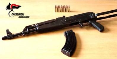 L'arma sequestrata
