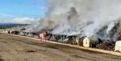 Incendio discarica Cassano allo Ionio, il sindaco: «Una regia sui roghi agli impianti calabresi»