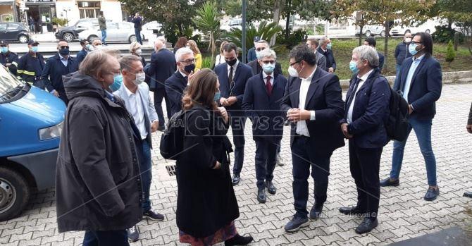 La commissione antimafia a Vibo