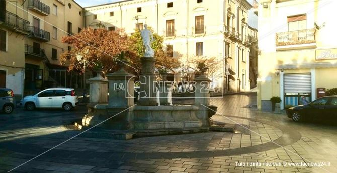 Piazza del Popolo a Cetraro