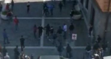 Vibo, maxi rissa alle spalle di piazza Municipio: video