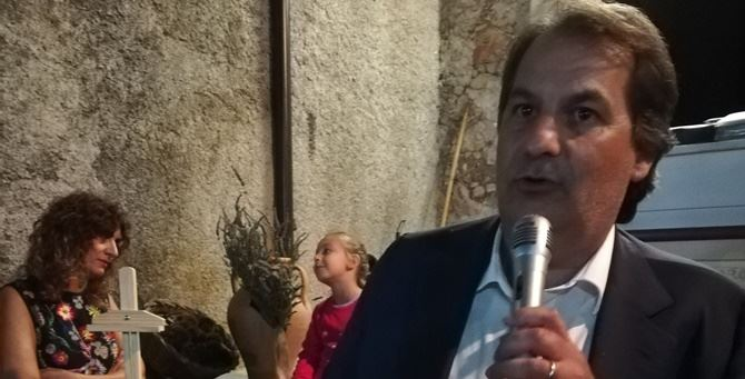 Il sindaco di Carolei Francesco Iannucci