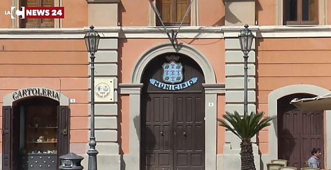 Il municipio di Corigliano Rossano