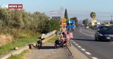 Fa tappa a Corigliano-Rossano Martin Hutchinson: l'uomo che gira il mondo in bicicletta