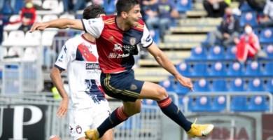 Serie A, trasferta sarda amara per il Crotone: il Cagliari vince 4-2