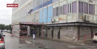 Il pronto soccorso dell'ospedale di Polistena
