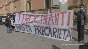 Tirocinanti Mibact in protesta a Cosenza
