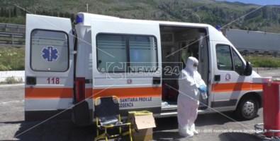 Covid all'ospedale di Cetraro: «Contagiati cinque sanitari del 118»