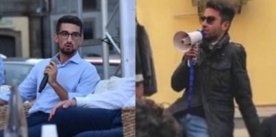 Giovanni Di Bartolo e Simone Giglio, studenti universitari ed esponenti del Pd