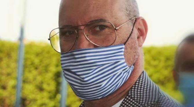 Il governatore Stefano Bonaccini, foto fb