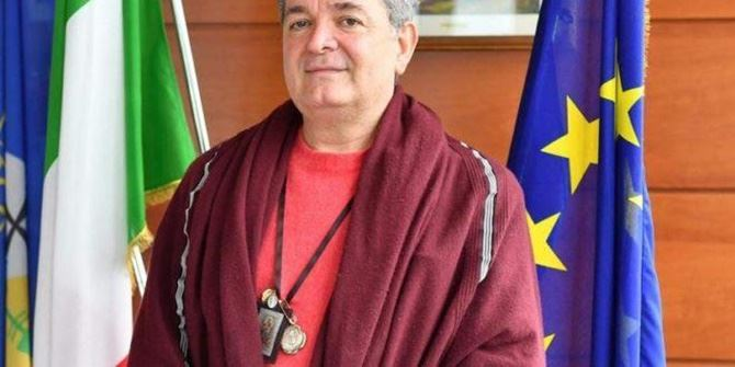 Il presidente ff della Regione Nino Spirlì