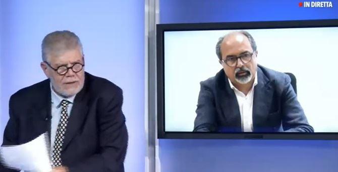 Da sinistra il direttore Pasquale Motta e il dirigente Antonio Belcastro