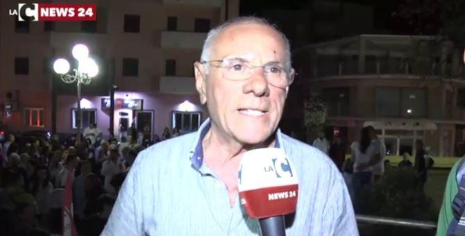 Il sindaco Aldo Alessio