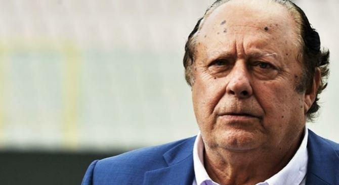 Il presidente della Vibonese, Pippo Caffo