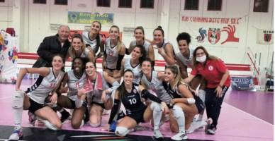 Le ragazze del Soverato Volley
