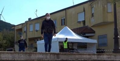 Il sindaco Domenico Giampà