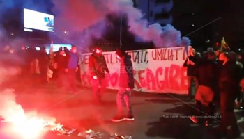 Proteste a Cosenza
