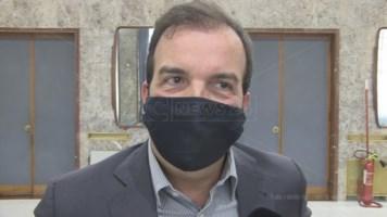 Il sindaco di Cosenza, Mario Occhiuto