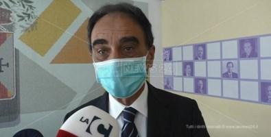 Il sindaco di Catanzaro, Sergio Abramo