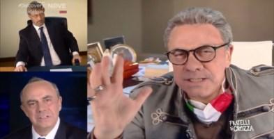 Crozza strapazza Spirlì, Cotticelli e Zuccatelli: «La vera emergenza in Calabria siamo noi»