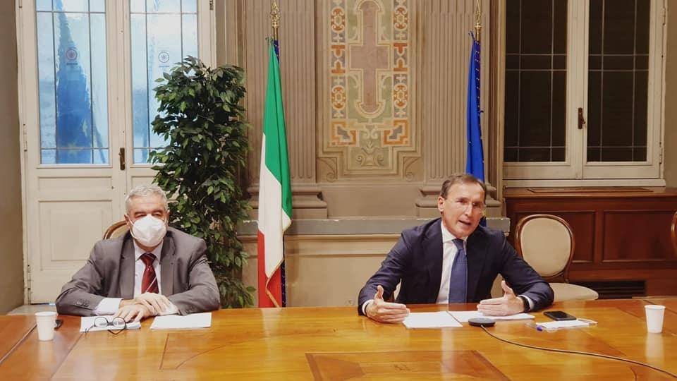 Francesco Boccia e Angelo Borrelli
