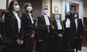 Tribunale di Vibo, quattro nuovi magistrati. «Benvenuti, questo è un posto di frontiera»