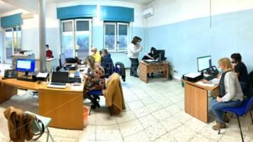 Gli operatori della Centrale Operativa Territoriale al lavoro