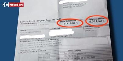 Vibo Valentia, stangata sulle bollette dell'acqua: c'è chi deve pagare oltre 5mila euro