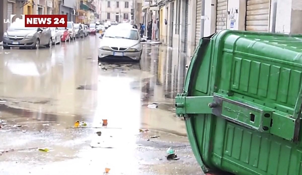 I danni del maltempo a Crotone