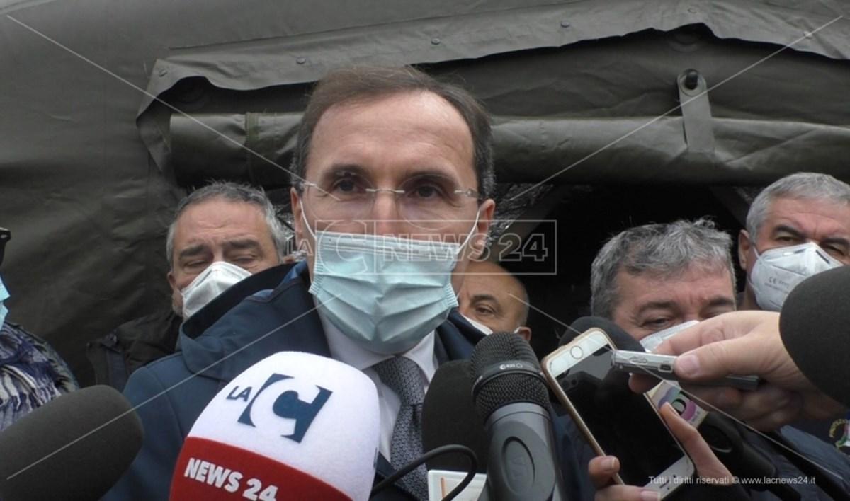 Il ministro Boccia a Cosenza