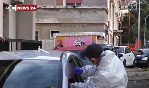 Coronavirus nel Reggino, a Scilla lunghe file di auto e ore d'attesa per i tamponi: video