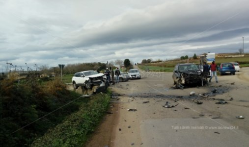 Incidente nel Vibonese