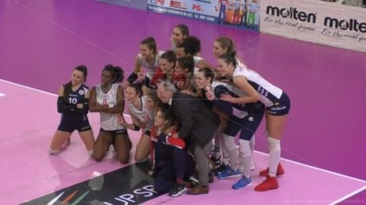 Pallavolo femminile A2, vittoria casalinga del Soverato contro Ravenna