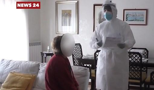 Il coraggio di chi cura a domicilio i malati di Covid: una giornata con i medici dell'Usca