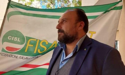 Il segretario generale di Fisascat Cisl Calabria Fortunato Lo Papa