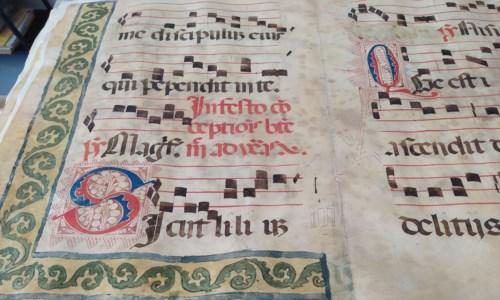 Cosenza, il tesoro della Civica torna a casa: restituiti alla Biblioteca ventotto corali del XVI secolo