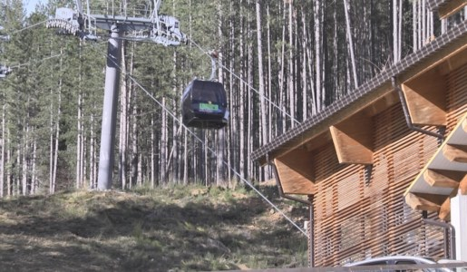 La cabinovia di Monte Botte Donato