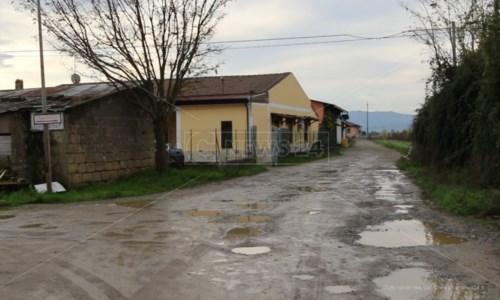 Il luogo dell'omicidio di Giuseppe Gateani a Cassano
