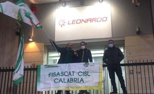 Lavoratori Leonardo senza ammortizzatori, Fisascat: «Si garantiscano i loro diritti»