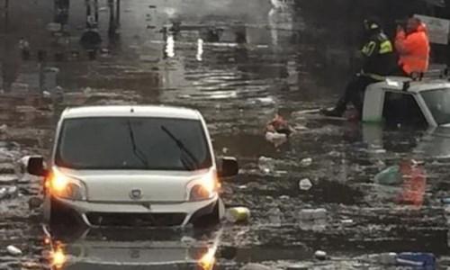 I danni provocati dal maltempo a Reggio Calabria