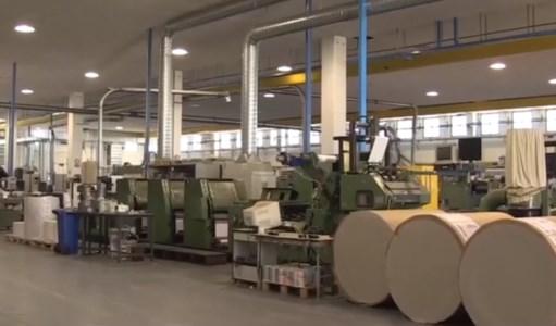 Abramo Printing, la Regione dovrà versare all'azienda più di un 1 milione e 300mila euro