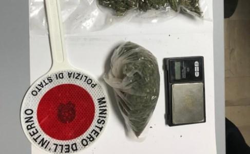 Marijuana nascosta tra frutta e verdura: arrestato un 26enne nel Cosentino