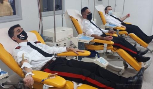 I carabinieri di Rogliano donano il sangue