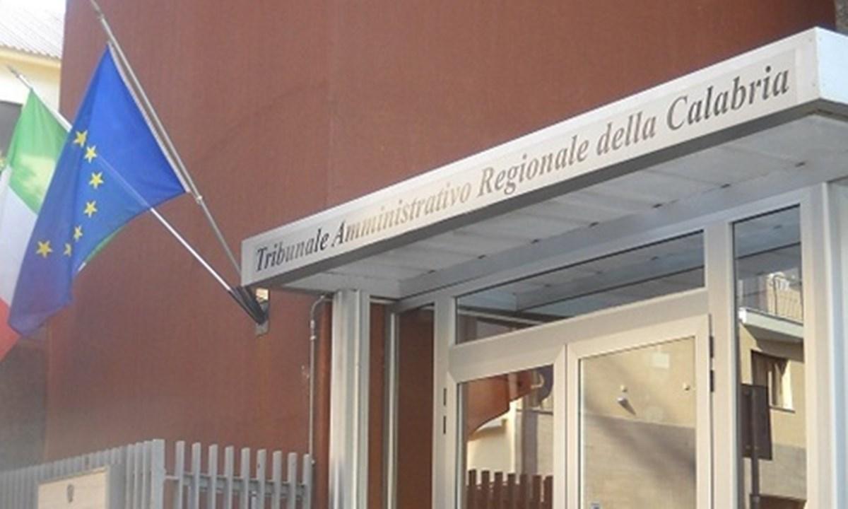 Il Tribunale amministrativo della Calabria