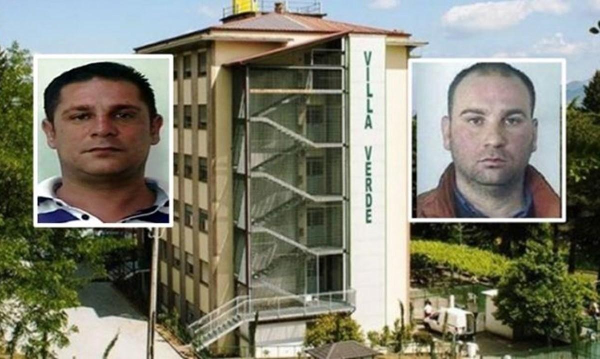 Nei riquadri: Francesco Scrugli e Andrea Mantella